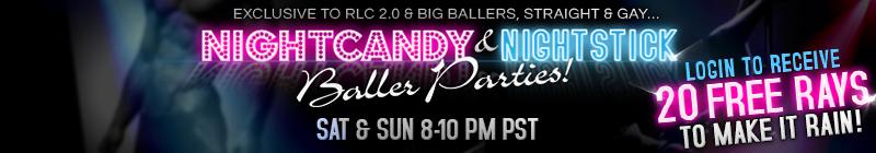 Nightcandy&Nightstick Baller Weekend Parties-Nov 22-23